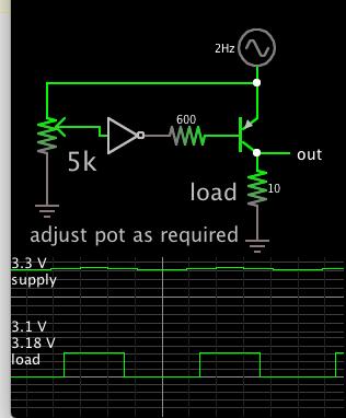 battery shut-off below 3_2V via PNP invert-gate pot adjust.png