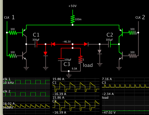 negative 50 from +50v supply 2 clks H-bridge 2 doublers.png
