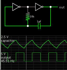 oscillator w two inverter gates w RC copy.png