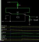 Dickson voltage doubler 12V 100F cap load fraction of ohm.png