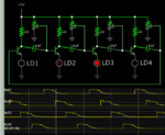 4-stage chaser 4 led's in emitter legs of 4 NPN's.png