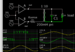SPWM from 2 opamps 24V to xfmr capa filter 220VAC sine to load.png