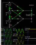3-phase delta 40VAC 6 diodes DC unfiltered to resistor 10kW.png