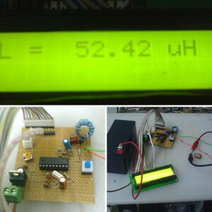 My PIC based Inductance Meter