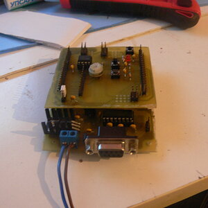 A small contrler board with atmega8