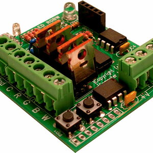 4 Channel PWM LED Controller