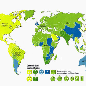 Power Plugs and Sockets all over the World