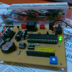 RTC WITH   7 SEGMENT DISPLAY