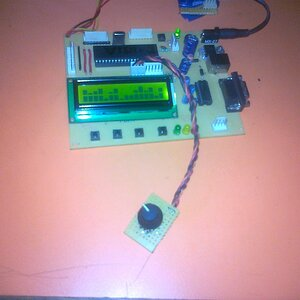 custom character with rotary encoder