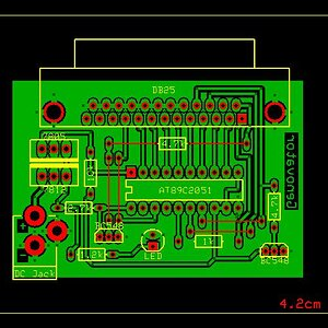 PCB in ExpressPCB