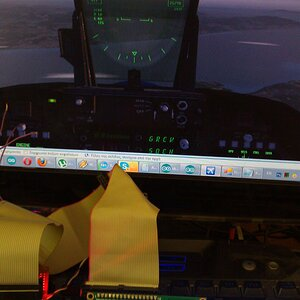 mini-testing-FSX Panel interface