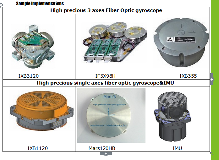 Full Range of Closed Loop Fiber Optic Gyros Description  Idealphotonics offers a range of state-of-the-art closed loop fiber optic gyroscope (FOG) des