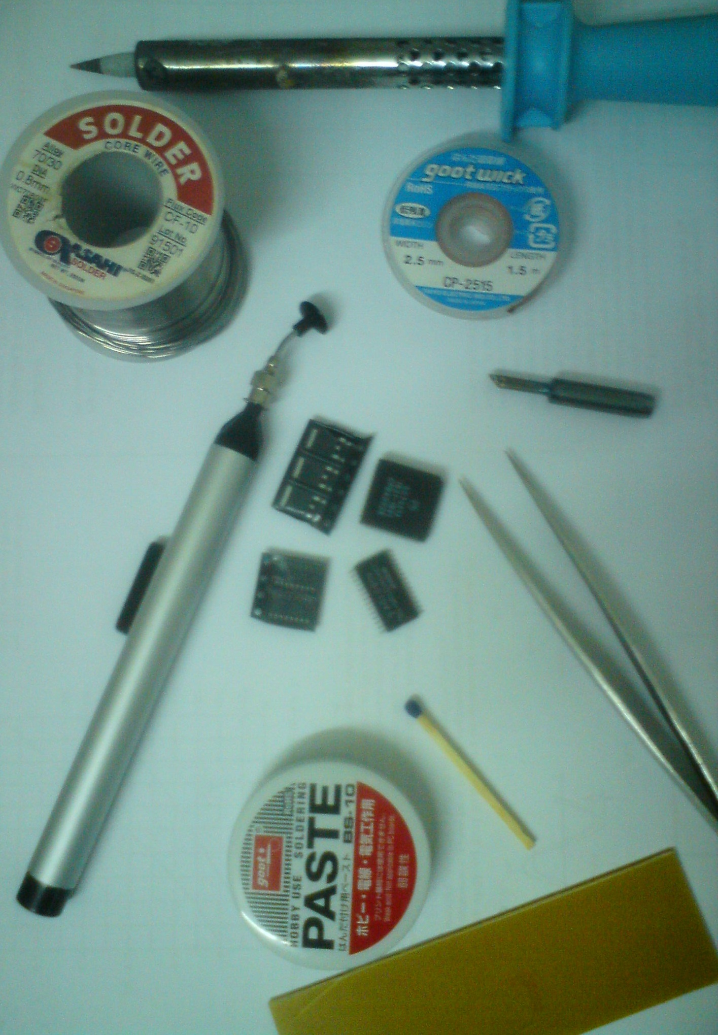 My SMD Soldering Tools